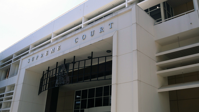 Supreme Court of the Northern Territory entrance.