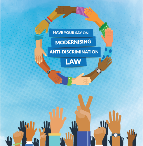 Public Comment - Modernisation of the Anti-Discrimination Act